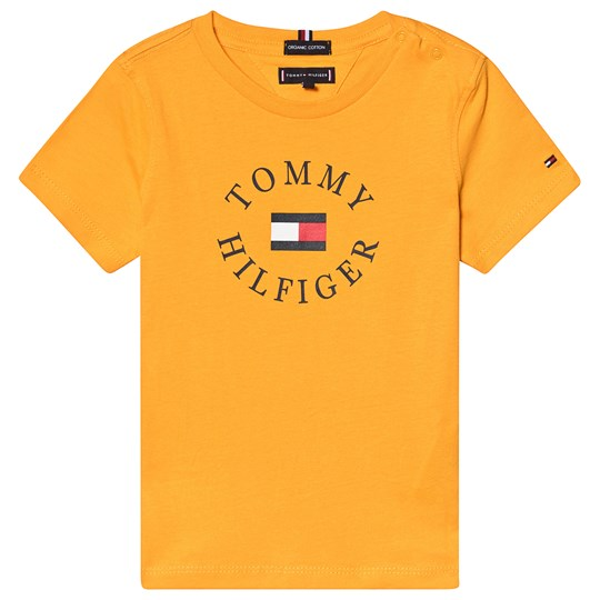 Tommy Hilfiger Yellow Essential Branded Graphic Tee 720