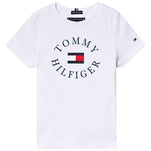 Image of Tommy Hilfiger Essential Tommy Graphic Tee White 92 (18-24 months) (3131980193)