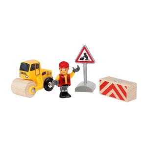 Image of BRIO BRIO® World 33899 – Road Worker Play Set 3+ years (3131980873)