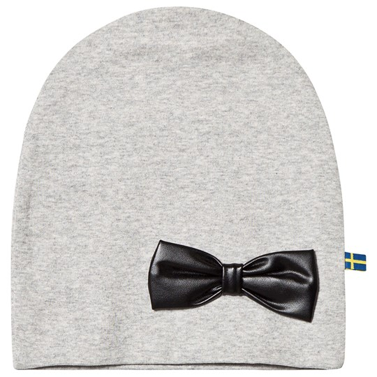 17f8a47bac9 The BRAND - Bow Beanie Grey Melange - Babyshop.com