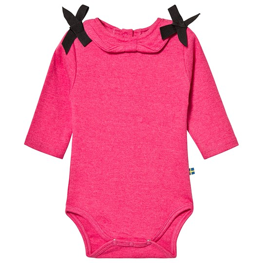 The BRAND Bow Baby Body Pink Melange