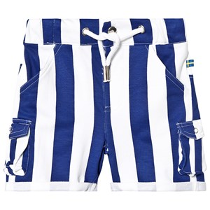 Image of The BRAND Army Shorts Blue Stripe 104/110 cm (1229068)