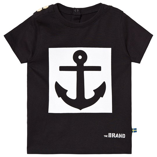 The BRAND Anchor Tee Black