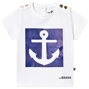 Image of The BRAND Anchor Tee White 128/134 cm (3131978467)
