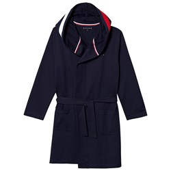 Tommy Hilfiger Navy Red and White Bath Robe