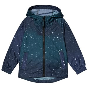 Image of Lands' End alaxy Backpack Rain Jacket Navy 18-24 months (3132748757)