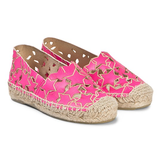 Stella McCartney Kids Espadriller Skor Rosa 6641 - Hot Pink