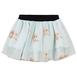 Caroline Bosmans Egg Skirt Pale Blue
