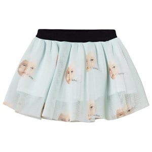Image of Caroline Bosmans Egg Skirt Pale Blue 10 år (3125336133)