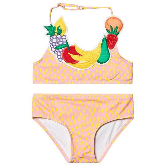 Stella McCartney Kids Orange Fruit Necklace Bikini 6649 - Painted Dots On 4bas