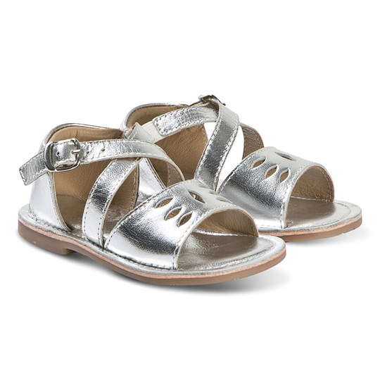 Carrément Beau Silver Buckle Sandals 29