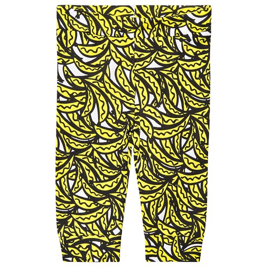 Stella McCartney Kids Yellow Bananas All Over Print Trousers 7340 - Bananas Aop