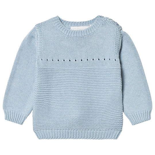 Stella McCartney Kids Blue Rubbit Print Jumper 4961 - Sky