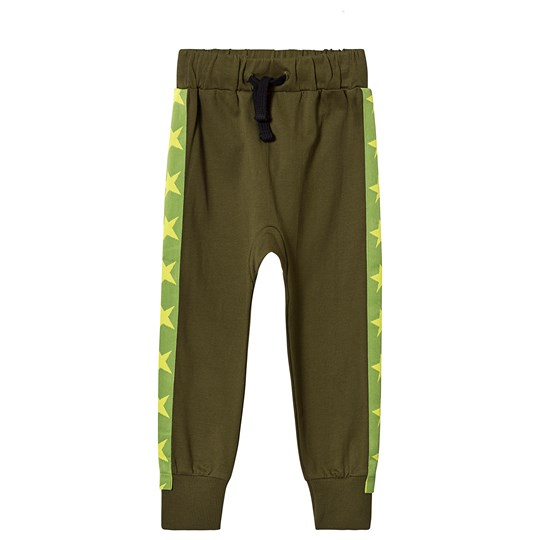 Tao&friends Stars Sweatpants Dark Green dark green