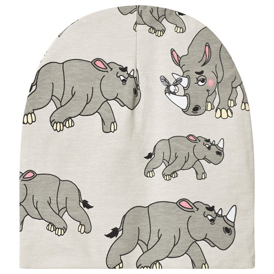 Tao&friends Rhino Beanie Light Grey Light Grey