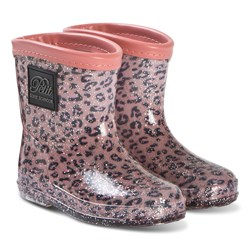 Petit by Sofie Schnoor Rubber Boot Baby Girl Leopard