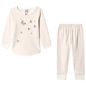 Image of Petit Bateau Butterfly Pajamas Pink 6 år (3134510763)