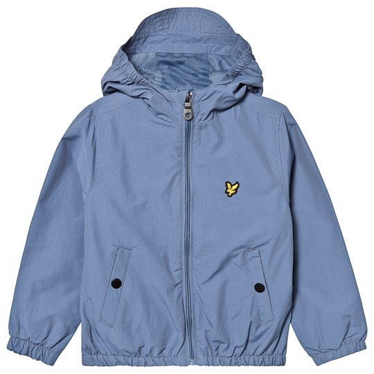 Lyle & Scott Moonlight Blue Hooded Windbreaker 155