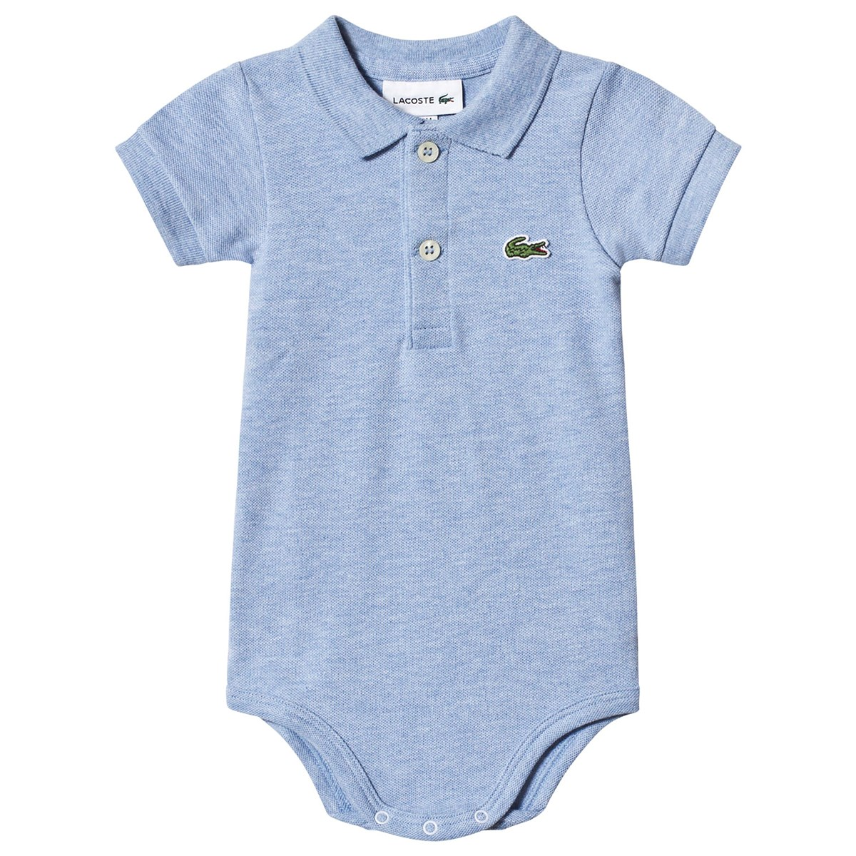 9ff03dcc54 Lacoste - Blue Branded Pique Polo Body in Gift Box - Babyshop.com