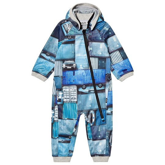 Molo Soft Shell Suits Hill Blue Containers Blue Containers