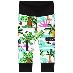 Image of Raspberry Republic Amazing Amazonia Sweatpants White 104-110cm (3-5 years) (3135225323)