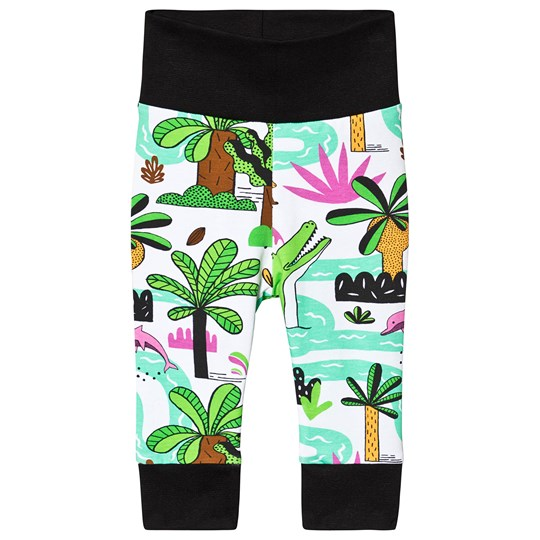 Raspberry Republic Amazing Amazonia Sweatpants White Green