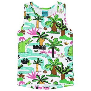Image of Raspberry Republic Amazing Amazonia Vest White 104-110cm (3-5 years) (3135225521)