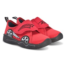 Superfit Benny Car Embroidered Sko Red