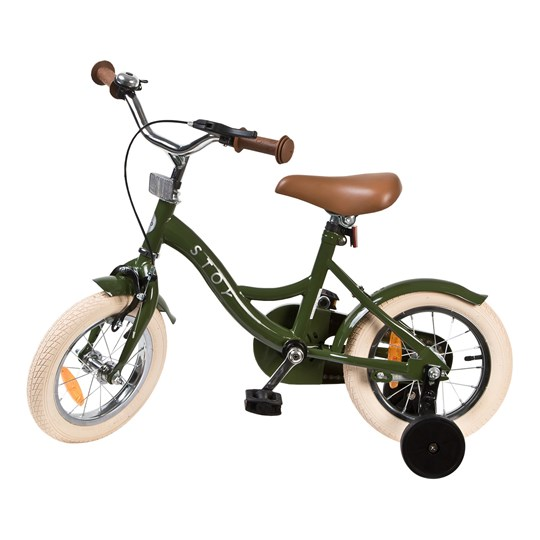 "STOY Bicycle 12"" Vintage Army Green"