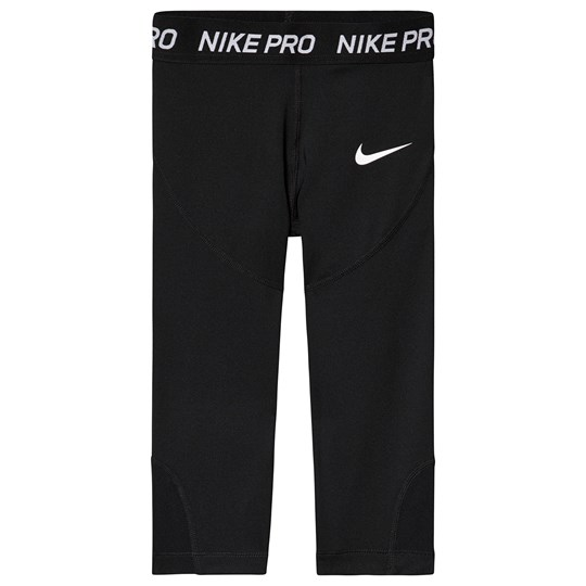 NIKE Black Nike Capri Leggings 010