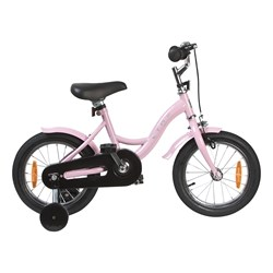 """STOY Classic Frame Bicycle 14"""" Light Pink"""
