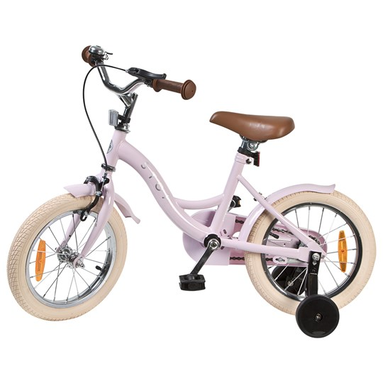 "STOY Bicycle 14"" Vintage Light Pink"