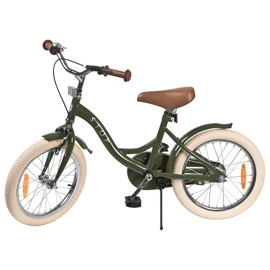"""STOY 16"""" Cykel Vintage Army Green"""