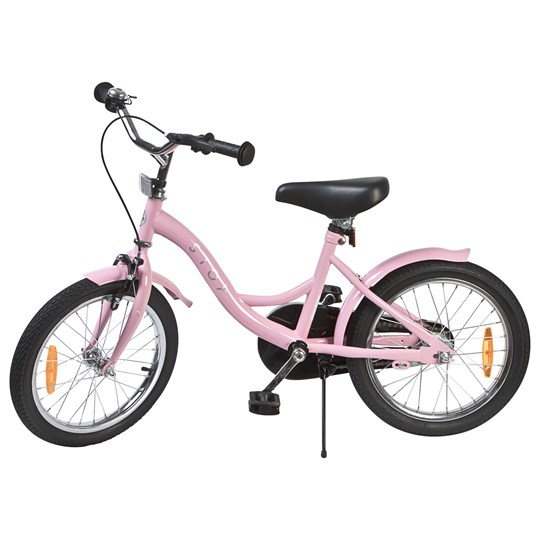 """STOY Classic Frame Bicycle 16"""" Light Pink"""