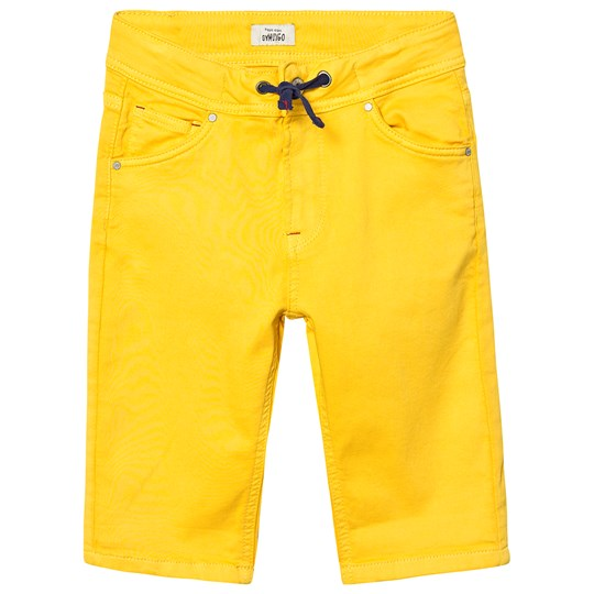 Pepe Jeans Mustard Washed Pull Up Joe Short 097