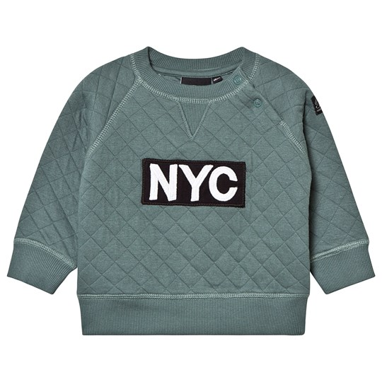 Petit by Sofie Schnoor Sweatshirt Quilted NYC Green Green