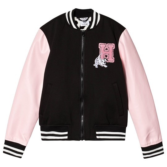 Hype Pink Hype x Disney Dalmation Varsity Jacket Black/Pink