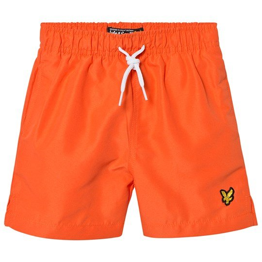 Lyle & Scott Tigerlilly Orange Classic Swim Shorts 660
