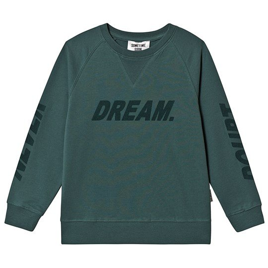 Sometime Soon Crewneck Green Green