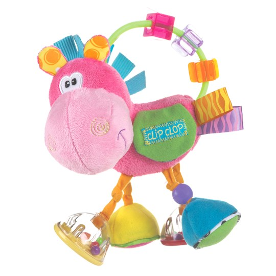 Playgro Toy Box Clopette Activity Rattle Pink