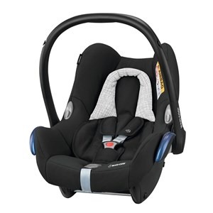 Image of Maxi-Cosi CabrioFix Infant Carrier + EasyFix Base Black Grid One Size (1351910)