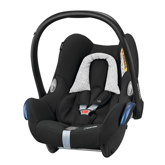 Maxi-Cosi CabrioFix Infant Carrier + EasyFix Base Black Grid