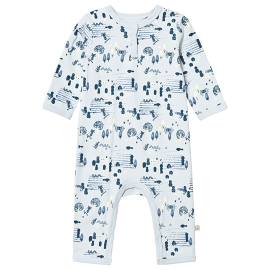 Minymo Suit Ls Baby Blue Baby Blue