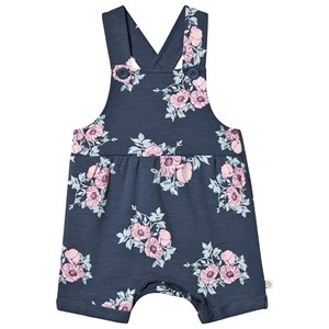 Image of Minymo Roses Overall Midnight Blue 74 cm (6-9 mdr) (3137429635)