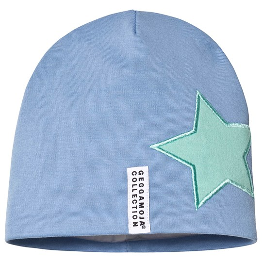 Geggamoja Star Hat Blue Blue
