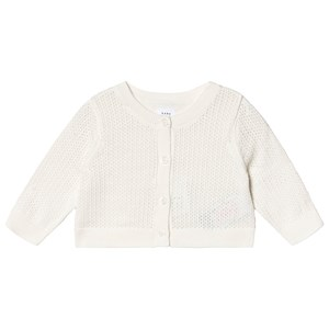 Image of GAP Knitted Cardigan Off White 6-12 mdr (3137428887)