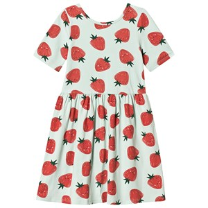 Image of GAP Strawberry Dress Green 18-24 mdr (3137428529)