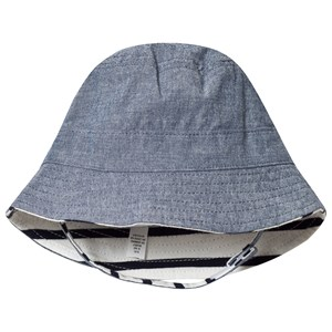 Image of GAP Reversible Bucket Hat Chambray 6-12 mdr (3137428497)