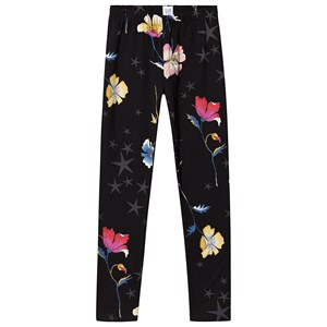Image of GAP Floral Leggings Black S (6-7 år) (3137428337)