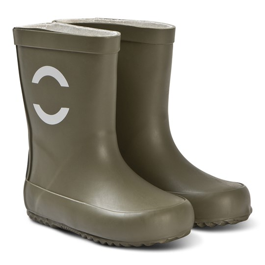 Mikk-Line Wellies Solid Dusty Olive Dusty Olive